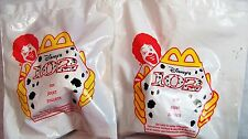 2000 McDonalds Happy Meal Fast Food Lot/2 Disney 102 Dalmations Premium MIP C10!