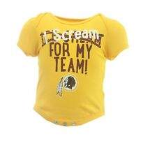 Washington Redskins Nfl Official Apparel Infant Baby Creeper Bodysuit New Tags