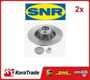 2x OE QUALITY BRAKE DISC SET KF155105U SNR P