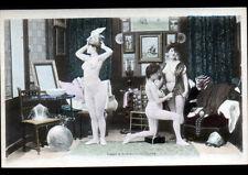 ARTISTE / Scéne de NU dans LOGE de L'OPERA / ESSAYAGE avant 1904