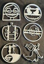 The Nightmare Before Christmas Set with 6 cookie cutter figure