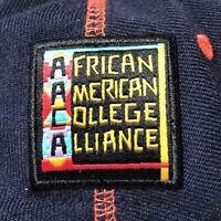 African American College Alliance Snapback Hat Virginia Cap Black HBCU Hip-Hop