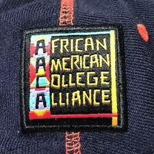 African American College Alliance Snapback Hat Virginia Cap Black HBCU Hip-Hop