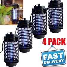 4PCS Indoor Bug Zapper Mosquito Trap Lamp Light Bulb Electronic Insect Killer B2