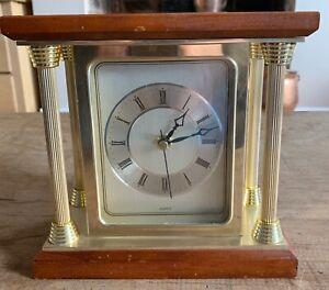 Vintage Quartz Mantle Clock