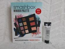 Smashbox Minibox Palette Set Bonus Photo Finish Primer & Vasanti Brush