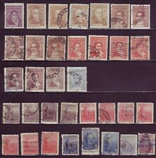 ARGENTINA nice lot of 34 old used (273)