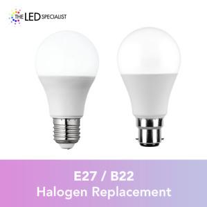 70w = 100w Halogen - LED 13W GLS E27 BC B22 Bayonet Standard Light Bulb Lamps