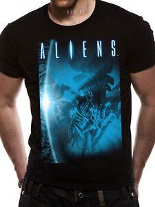 ALIENS- BLUE Official T Shirt Mens Licensed Merch New