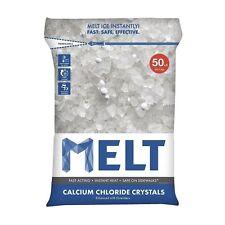 Snow Joe Llc Melt 50-LB Calcium Chloride Crystals Ice Melter - Resealable Bag