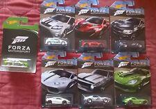 Hot wheels Forza Motorsport & Ford Falcon Race Car xbox set von 7 Cars
