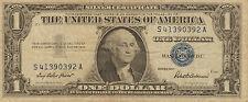 1957 $1 Silver Certificate, Blue Seal, Medium to High Grade (A-23)