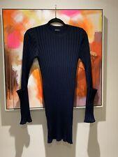 💫BNWOT JOSEPH Zip ribbed merino wool top Jumper. Small. Net-a-Porter.