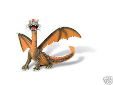 Drache sitzend orange Fantasy Bullyland 75595