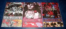 DIA DE LOS MUERTOS #1 2 3 (of 3) DAY OF THE DEAD iMAGE COMIC SET 1st print 2013