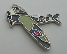 Spitfire RAF Ww2 Aeroplane Quality Enamel Pin Badge