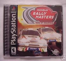Rally Masters: Michelin Race Of Champions (PlayStation PS1) Complete Nice!