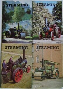 Steaming Magazine Volume 23 complete in 4 issues 1979 - 1980