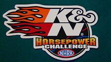 "K&N Filter Racing Decal Sticker Official K & N 6 X 3.5"""