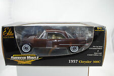 1:18 Ertl Elite Editon 1957 Chrysler 300C brun édition limitée / #39487