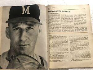 1962 Sports Illustrated DETROIT Tigers LARY 1962 BASEBALL PREV Milwaukee SPAHN