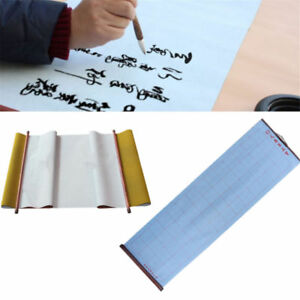 Chinese Magic Water Writing Cloth Calligraphy Fabric Craft Reusable Portable