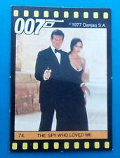 1984 JAMES BOND -- Monty Gum STORY OF 007 -- Spy Who Loved Me - Trading Card #74
