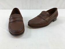 Trask Sadler Brown Leather Loafer Size 10.5M L1930