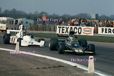 RONNIE PETERSON LOTUS JPS 76 F1 International TROPHY RACE 1974 fotografia 3