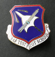 US AIR FORCE USAF TEST PILOT SCHOOL LAPEL PIN BADGE 1 inch AIR COMMAND