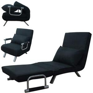 New Folding Convertible Sofa Sleeper Flip Chair  Bed Lounge Couch Pillow 5 Style