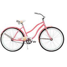 Womens Cruiser Beach Huffy Bike bicycle 26 pink single speed girls NEW