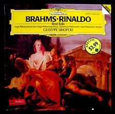 BRAHMS-RINALDO-Fully Sealed Import Album-Rene Kollo-Sinopoli-DEUTSCHE GRAMMOPHON