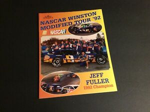 1992 NASCAR WINSTON MODIFIED TOUR YEARBOOK