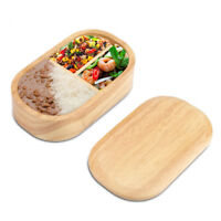 Japanese Wooden Bento Boxes Wood Lunch Box Students Sushi Lunch Container Box KL