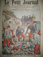 FORT DE MONTFAUCON GARNISON DE BESANçON GUERRIERES A CUBA LE PETIT JOURNAL 1906