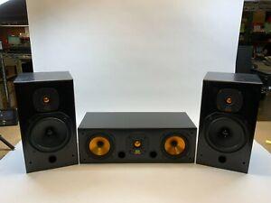 Monitor Audio model CC 700 Center Channel Speaker and 2.5 Bookshelf Speakers Set