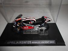 APRILIA RSW125 ARNAUD VINCENT 2002 ALTAYA IXO 1/24