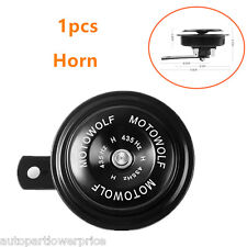 1pcs 12V 110DB Car Loud Tone Speakers Snail Electric Air Loud Horn Universal