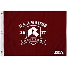 US Amateur 2017 Pin Flag -  Riviera -  Silk Screened - Beautiful