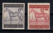 2x Deutsches Reich - Marken - postfrisch - 1943 - ANK 857-858 (517B)