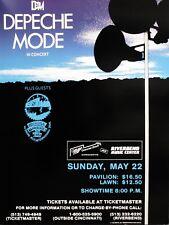 DEPECHE MODE / OMD  16x12 Repro Concert Poster