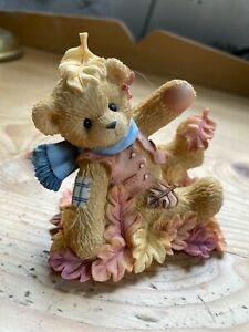 Chesrished Teddies 17622 - Nathan - Rare Retired Leave Your Worries Behind