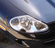 Jaguar XK8 & XKR Chrome Headlight Trim x 2