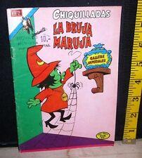 LA BRUJA MARUJA Spanish comic-book Wacky Witch 1975 import Mexico