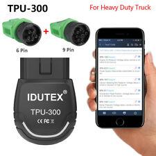 OBD2 Scanner Heavy Duty Diesel Truck Diagnostic Scan Tool TPU300 Car Code Reader