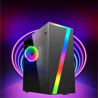 ULTRA FAST Quad Core Gaming Computer PC Tower WIFI 8GB 1TB 2GB GT710 Windows 10