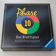 Vollständig & TOP-Zustand: Phase 10 - Das Brettspiel Spiel von Ravensburger