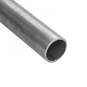 Stahlrohr schwarz Gewinderohr Rundrohr Leitungsrohr Geländer Rohr Stahl Metall