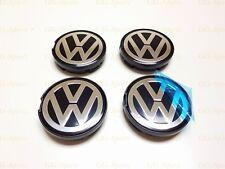 4Pcs 55mm Wheel Center Hub Caps Fit For VW VOLKSWAGEN Bora Jetta Golf 6N0601171